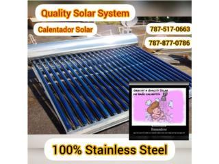Calentador solar , Sun and Water World Puerto Rico