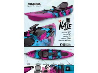 Llegó el Nuevo KANOA Naje kayak 2019, KANOA kayaks Puerto Rico