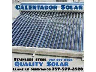Calentadores Solares Niples y Bronce, Quality Solar System 787-517-0663  Puerto Rico