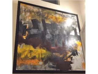 Ricardo Ávalo - Abstracto, PR ART COLLECTION Puerto Rico