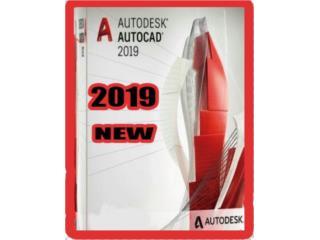 AUTOCAD 2019 ((( PARA DISEÑA PLANOS ))), MK COMPUTER Puerto Rico