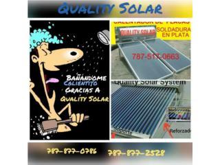 Cal.Solar CompreCalidad 35 años en el Mercado, Quality Solar System 787-517-0663  Puerto Rico