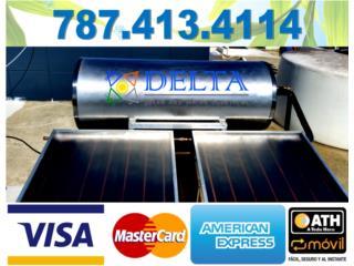 CALENTADORES SOLARES DE ALTA EFICIENCIA, DELTA SOLAR CORP. 787.413.4114 Puerto Rico