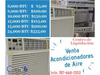 Acondicionadores de Aire 6,000BTU - 24,000BTU, COLON DISTRIBUTORS PR, INC. Puerto Rico