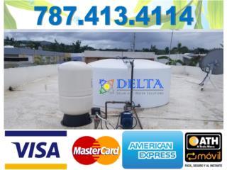 CISTERNAS DE AGUA, DELTA SOLAR CORP. 787.413.4114 Puerto Rico