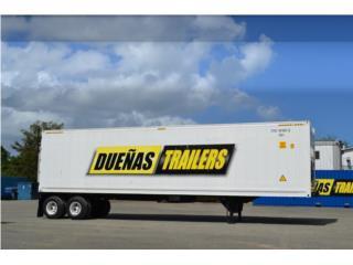 San Juan-Santurce Puerto Rico Vagones, Trailer o vagón de 40'