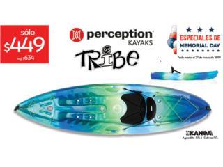 25% OFF! Perception Tribe 9.5, KANOA kayaks Puerto Rico