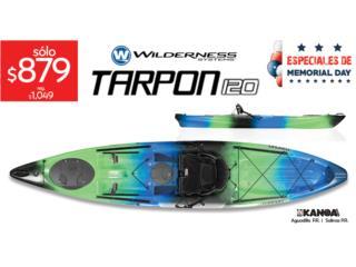 Wilderness Systems Tarpon 120- Midnight color, KANOA kayaks Puerto Rico