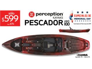 Liquidación! Perception Pescador PRO 10.0 , KANOA kayaks Puerto Rico