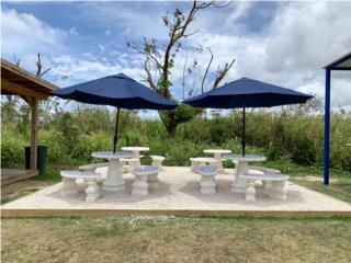 Mesas de Patio, Ornamentación Quintana Puerto Rico