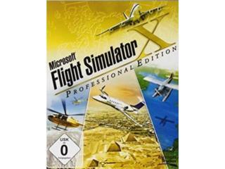 FLIGHT SIMULATOR X ((( SIMULADOR DE VUELO ))), MK COMPUTER Puerto Rico