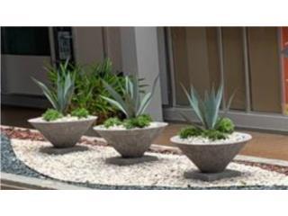 Purrones de cemento para plantas, 713 Precast LLC Puerto Rico