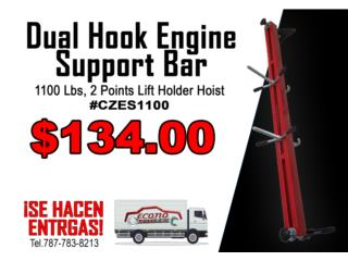 1100 Lbs Dual Hook Engine Support Bar 2 Point, ECONO TOOLS Puerto Rico
