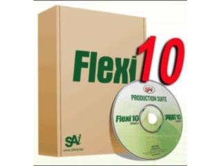 FLEXISIGN 10 ((( TODO PARA PLOTTER ))), MK COMPUTER Puerto Rico