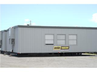 Double-Wide Office Trailers 24' x 36', DUEÑAS TRAILERS Puerto Rico