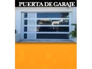 PUERTAS DE GARAJE EN ALUMINIO Y CRISTAL , Homesolution, Corp Puerto Rico
