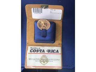 COIN REPUBLICA DE COSTA RICA, La Familia Casa de Empeño y Joyería-Caguas T2 Puerto Rico