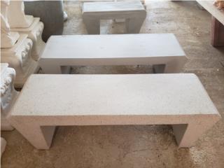 Bancos en cemento Muebles, Ornamentación Quintana Puerto Rico