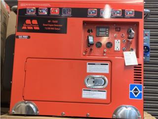 Planta diesel de 7.5KW , International Shipping PR Puerto Rico