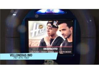 22 velloneras modernas, ventas; 40,000 anual., Internet Music Distributor Puerto Rico