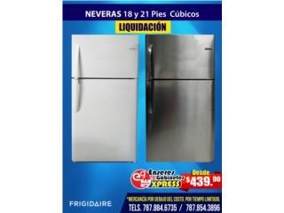 Neveras en Liquidación de 18 y 21 pies cúbico, Mattress Discount Center Puerto Rico