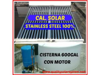 Cal.Sol. y cisternas con sistema inteligente, Sun and Water World Puerto Rico