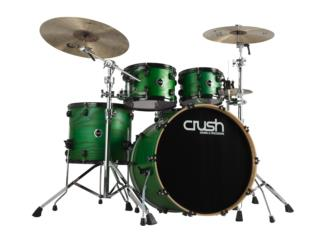 CRUSH CHAMELEON ASH WOOD 6-PLY 5PC DRUM SHELL, STEVAN MICHEO MUSIC Puerto Rico