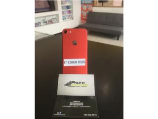 IPHONE 7 ROJO (128GB)  DESBLOQUEADO(RSIM), Phone Evolution Puerto Rico