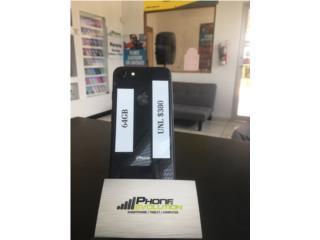 IPHONE 8 NEGRO (64GB)  DESBLOQUEADO,, Phone Evolution Puerto Rico