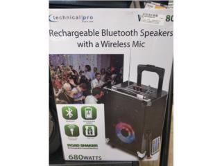 Technical pro rechargable Bluetooth $69.99, La Familia Casa de Empeño y Joyería-Arecibo Puerto Rico