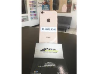 IPHONE 8 64GB DESBLOQUEADO (RSIM), Phone Evolution Puerto Rico