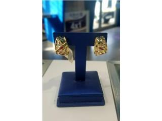 Gold-Diamond Earrings: 8.7D 14K, La Familia Casa de Empeño y Joyería-Mayagüez 1 Puerto Rico