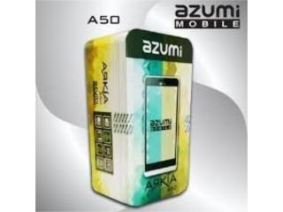 AZUMI ARKIA A50 $54.95, MEGA CELLULARS INC. Puerto Rico