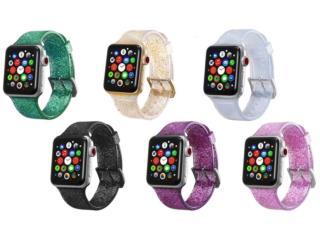 Variedad de Correas Apple Watch S 1 2 3 4, MEGA CELLULARS INC. Puerto Rico