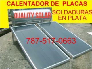 San Juan-Santurce Puerto Rico Tanques de Agua, CAL. SOLAR DE PLACAS Y DE ST STEEL TE ORIENTO