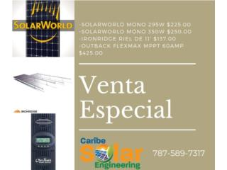 Placa SolarWorld 350W, Caribe Solar Engineering Puerto Rico