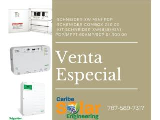 Kit Schneider XW6848/Mini PDP/ MPPT 60amp/SCP, Caribe Solar Engineering Puerto Rico