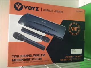 Micrófono Voyz $100 OMO, Krazy Pawn Corp Puerto Rico