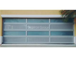 PUERTAS DE GARAJE A LA MEDIDA MODELOS 2019, Elegance Garage Door's y Mas. Puerto Rico