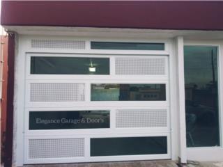 PUERTAS DE GARAJE Y PORTONES DE EXTERIOR , Elegance Garage Door's y Mas. Puerto Rico