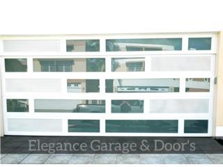 LA CALIDAD Y PRECIOS QUE BUSCAS MODELOS 2019, Elegance Garage Door's y Mas. Puerto Rico