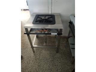 Estufa infiernillo 16x16, PR. EQUIPOS Puerto Rico