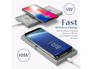 Wireless charger compatible Samsung y Iphone , MEGA CELLULARS INC. Puerto Rico