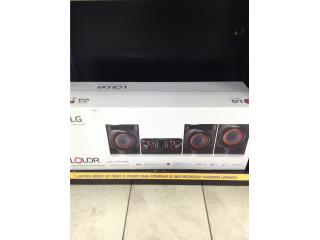 LG cj45 mini sound system, La Familia Casa de Empeño y Joyería-Aguadilla Puerto Rico
