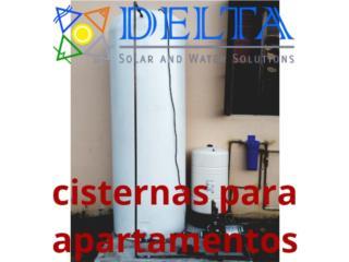 Tanques de agua, DELTA SOLAR CORP. 787.413.4114 Puerto Rico