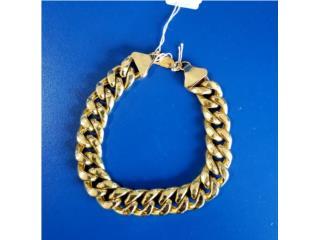 Gold Cuban Link Bracelet: 13.5D 10K, La Familia Casa de Empeño y Joyería-Mayagüez 1 Puerto Rico