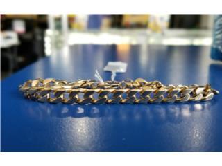 Gold Cuban Link Bracelet: 18.6D 14K, La Familia Casa de Empeño y Joyería-Mayagüez 1 Puerto Rico