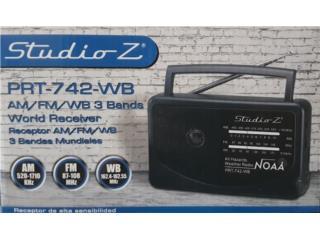 RADIO AM FM WEATHER NOAA DE BATERIA Y AC, IB STORE ibstorepr.com Abierto Miercoles & Jueves Puerto Rico