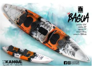 LLEGARON! KANOA Bagua COLORES NUEVOS!, KANOA kayaks Puerto Rico