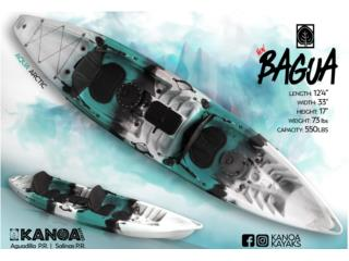 LLEGARON! KANOA Bagua-NUEVOS COLORES!, KANOA kayaks Puerto Rico